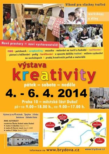 plakát Dubeč 4.-6.4.2014